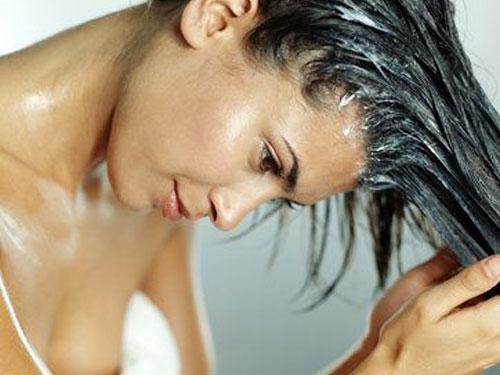 Hidratação de cabelos