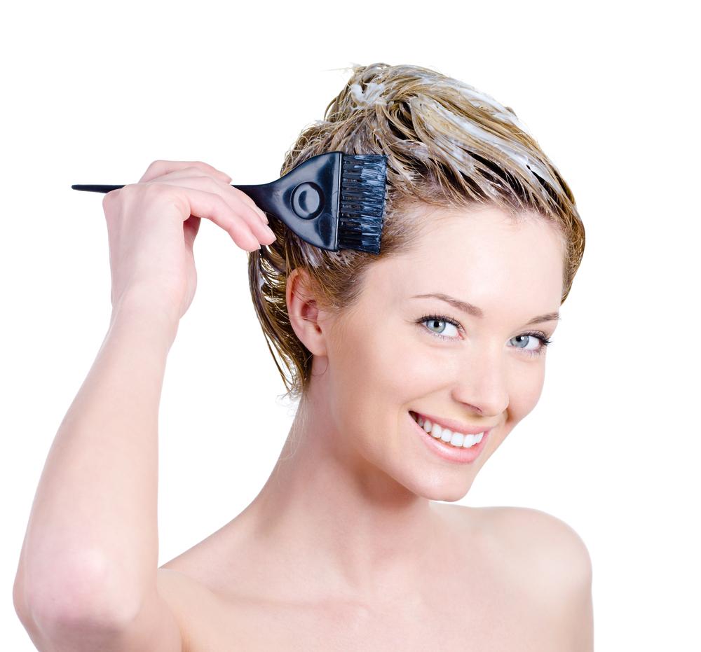 como pintar os cabelos