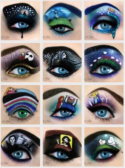arte no olho